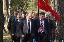 Под Дятьково открыли мемориал в честь героя-афганца