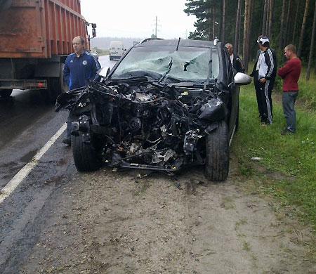 ДТП произошло 3 августа на 33 километре автодороги Брянск — Дятьково