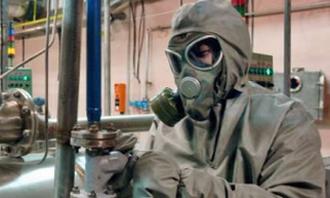 На почепском заводе произошла утечка химического оружия
